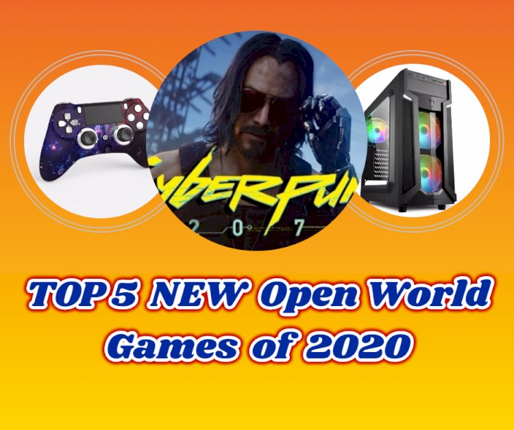 Top 5 NEW Open World Games of 2020