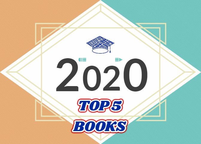 TOP 5 Books you should read in 2020