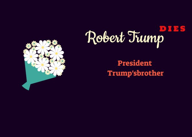 President Trump : Robert will be greatly missed