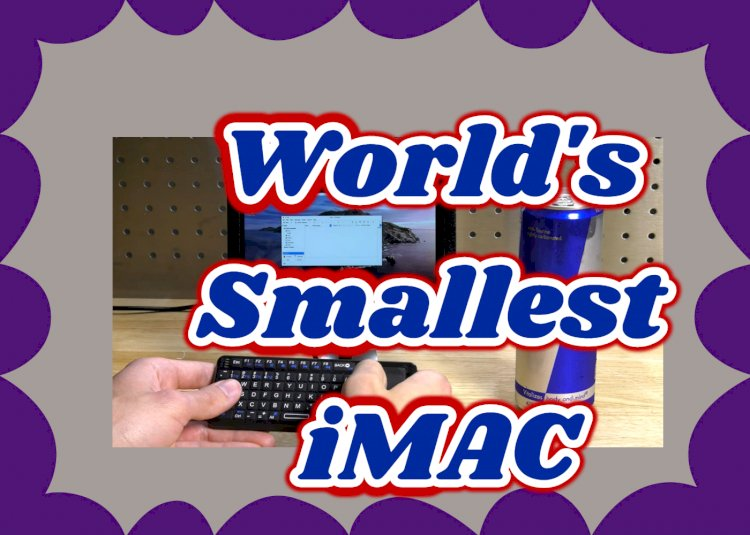 "Use Raspberry Pi to build the world's smallest ""iMac"""