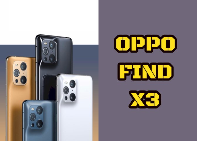 OPPO officially releases Find X3 series