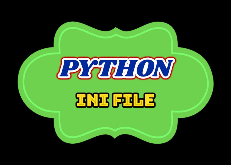 Python3 INI file read and write