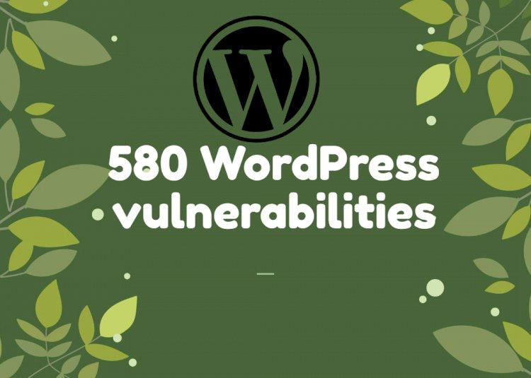 More than 580 WordPress vulnerabilities were disclosed in 2020